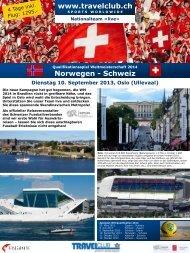 Norwegen - Schweiz - Travelclub