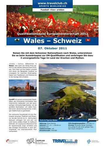 Wales – Schweiz - Travelclub