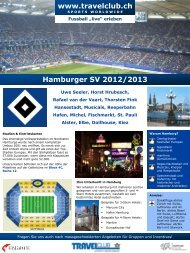Hamburger SV 2012/2013 - Travelclub