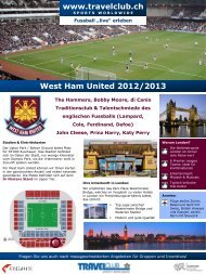 West Ham United 2012/2013 - Travelclub