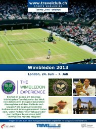 Wimbledon 2013 - Travelclub