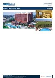 Türkei > Selin World Hotel - Travelclub