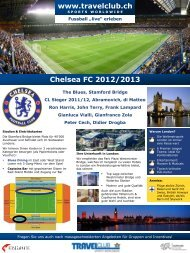 Chelsea FC 2012/2013 - Travelclub