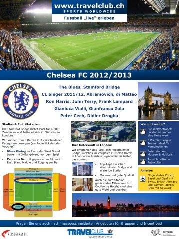 Chelsea FC 2012/2013 - Travelclub