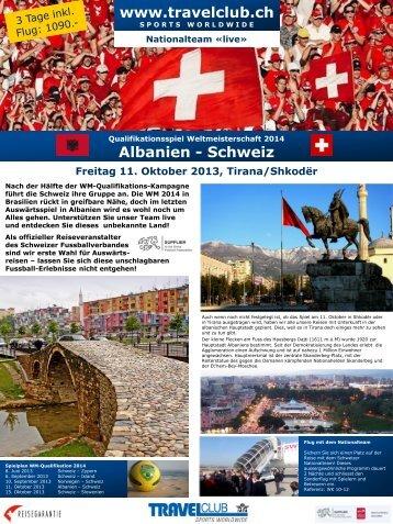 Albanien - Schweiz - TRAVELclub