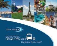 groupes 2013 - Travel Europe