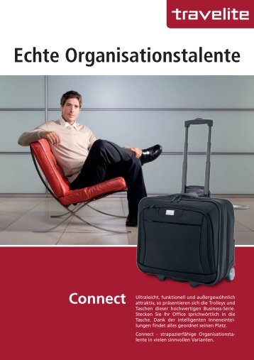 Echte Organisationstalente Connect - Travelite