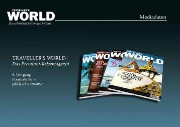 Mediadaten - TRAVELLER´S WORLD Magazin