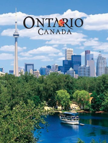 Let us stir your imagination. There is a new ... - Ontario Tourism