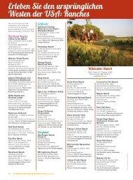 Das Erlebnis des amerikanischen Westens: Ranches - TravelTex