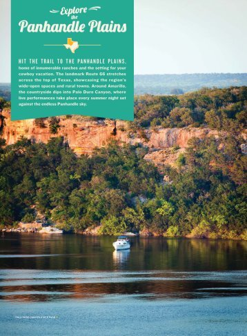 Panhandle Plains - TravelTex