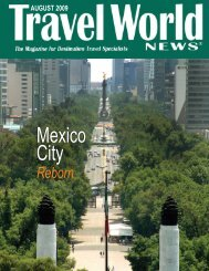 0809 Issue MEXICO.qxp - Travel World News