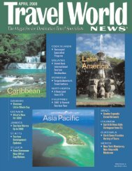 Section 1: Industry News/Fams/North America/Europe - Travel World ...