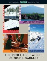 4-1206-Niche Markets.qxp - Travel World News