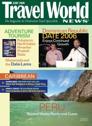 JUNE 2006 - Travel World News