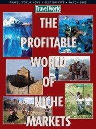 5-0306-Niche Markets.qxp - Travel World News