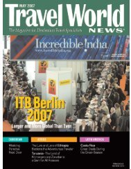 Section 1: Industry Events/North America - Travel World News