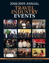 the 2008 Industry Events Pull-Out Supplement - Travel World News