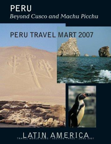 PERU - Travel World News