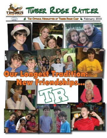 new friendships - Timber Ridge Camps