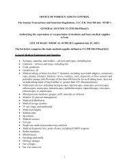 List of Basic Medical Supplies