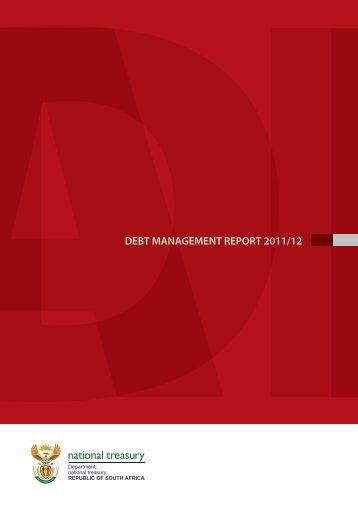 DEBT MANAGEMENT REPORT 2011/12 - National Treasury