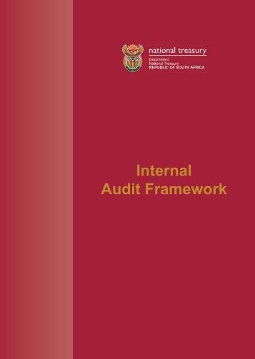 Treasury Internal Audit Framework Revised ... - National Treasury