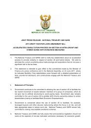 1 joint press release: national treasury and sars 2011 draft taxation ...