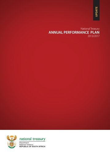 Annual Performance Plan 2013-2017 - National Treasury