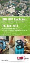 BIG 2011 Einblicke 19. Juni 2011 - Stadt Borken