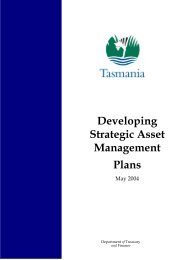 Developing Strategic Asset Management Plans - May 2004