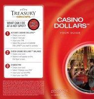 CASINO DOLLARS™ - Treasury Casino & Hotel