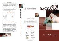 mini baccarat 1 - feb 11.ai - Treasury Casino & Hotel