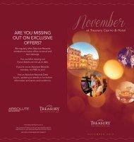 November - Treasury Casino & Hotel