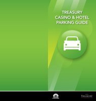 treasury casino & hotel parking guide