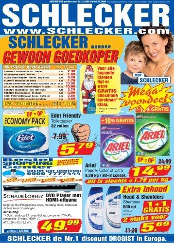 GEWOON GOEDKOPER - Schlecker