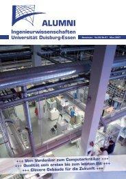 Alumni Ingenieurwissenschaften - Universität Duisburg-Essen