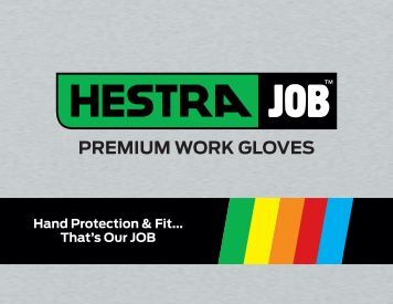 PREMIUM WORK GLOVES Hand Protection & Fit - Shopatron
