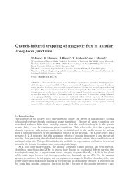 Quench-induced trapping of magnetic flux in annular Josephson ...