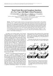 Metal Oxide Bicrystal Josephson Junctions of a New Type with High ...