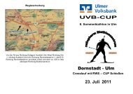 CUP Schießen 23. Juli 2011 - DAV Ulm
