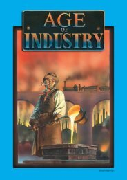 Age of Industry 2nd edition rules - Treefrog Games