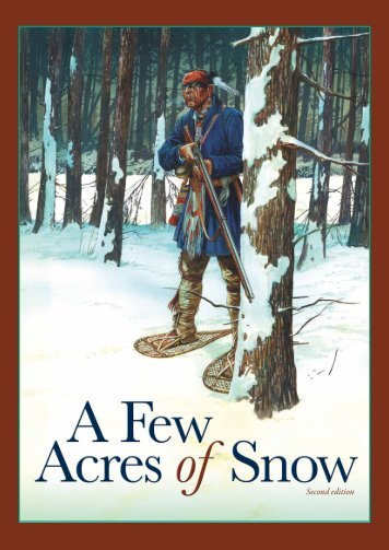 A Few Acres Of Snow – 2nd Edition Rules (PDF) - Treefrog Games