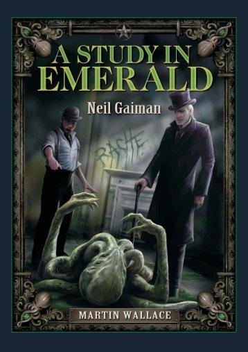 A Study in Emerald-german.cdr - Treefrog Games