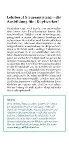 Broschüre SteuerassistenIn - Jetzt bist Du am Steuer - Seite 4