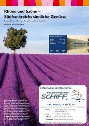 Infos (PDF-Download, 692 kB) - Treffpunkt Schiff