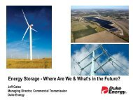 Energy Storage - Where Are We & What's in the Future? - Texas ...