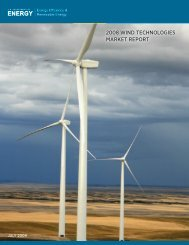 2008 Wind Technologies Market Report - Texas Renewable Energy ...