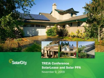 Solar Lease and Solar PPA