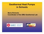 Geothermal Heat Pumps in Schools